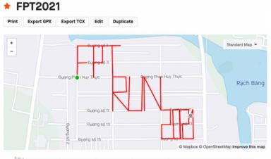 FPT Run phát động chạy tạo hình chào năm mới 2021
